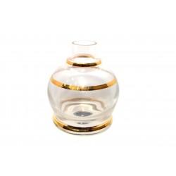 Shisha glass jumbinho gold