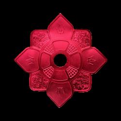 Prato Imperial Hookah King - Vermelho