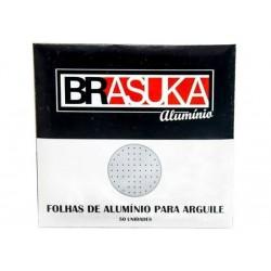 Alumínio Brasuka 50 folhas